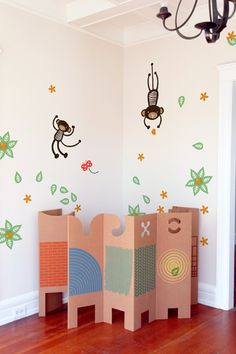 Wee Gallery Mango Tree Monkey ~ Re-Stik
