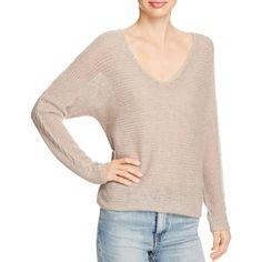 360 Sweater Sophia Cashmere V Neck Sweater