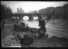 Inondation au pont de la Tournelle (Paris), 1910 - Pont de la Tournelle — Wikipédia