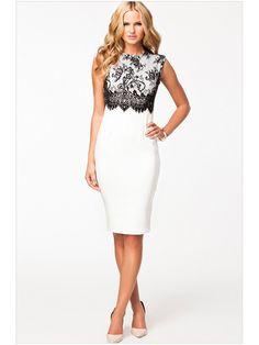 White Round Collar Sleeveless Floral Long Dress