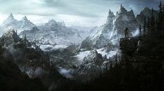 Skyrim Rpg Mountains Warrior Game Screenshot Pc  #ForGamers #Game #gaming #Mountains #Pc #Rpg #Screenshot #Skyrim #Warrior