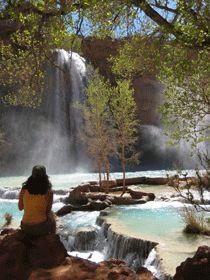 Havasu Falls, Grand Canyon National Park in Arizona