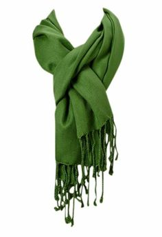 Amtal Large Pashmina Soft Scarf Cashmere Shawl Wrap Stole in Solid Colors - Green Best Photo Background, Blue Background Images, Sherlock Scarf, Champion Clothing, Mens Cashmere Scarf, Pashmina Shawl, Neck Scarves, Square Scarf, Pantone Color