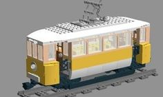 LEGO MOC MOC-1206 Friends Tram - building instructions and parts list.