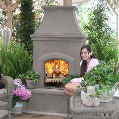 Sonoma Outdoor Wood Burning Fireplace