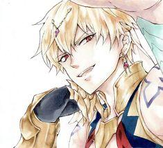 King Gilgamesh, Gilgamesh And Enkidu, Fate Zero, Anime Nerd, Anime Guys, Manga Boy, Manga Anime, Blonde Hair Anime Boy, Fate Servants