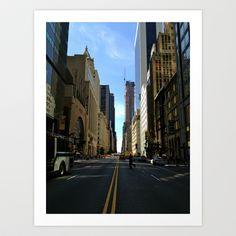 New York City Street Art Print by Jasmine Perillo - $16.12