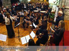 Concierto de Coros y Orquesta de la Escuela Municipal de Música Luigi Boccherini de Arenas de San Pedro en el VII Festival Luigi Boccherini de Mayo de 2014.