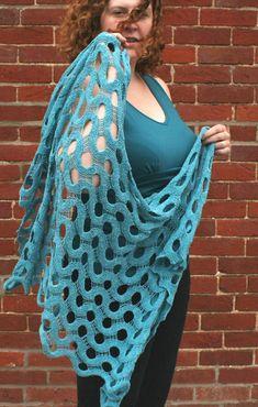 Summit Shawl By Mandie Harrington - Free Knitted Pattern - (ravelry)