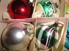 Oude en antieke kerstballen te koop, vintage kerstspullen uit de jaren 50, 60, 70 en 80