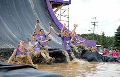 "Mudderella is not exactly a Disney fairytale.. Designed by the same team behind Tough Mudder races, this mud run encourages runners to ""own your strong."" #running #mud #runs"