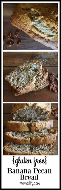Is there anything better than a thick piece of warm banana bread? I think not. You probably have all these ingredients in your pantry and refrigerator… all you need to do is throw some pecans and cinnamon in and this will be your new favorite banana bread recipe!