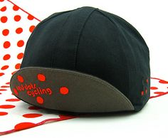 New: Limited Edition Red Dots Cycling Cap