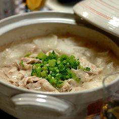 速攻鍋❤大根と薄切り豚バラ鍋