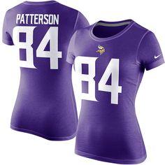 Cordarrelle Patterson Minnesota Vikings Nike Women's Player Name & Number T-Shirt - Purple - $25.59