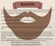 Oil using essential oils Essential Oils Essential oils beard oil recipe - Beard Essential Oil For Men, Oils For Men, Doterra Essential Oils, Essential Oil Blends, Doterra Blends, Diy Beard Oil, Beard Oil And Balm, Beard Balm, Living Oils