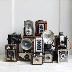 one of these days I will have a collection  of vintage cameras.