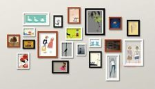 20 PCS reality wood PICTURE PHOTO FRAME WALL SET ART work HOME DECOR ph002