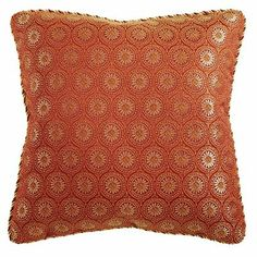 Just bought (2) Sunburst Medallions Pillows to brighten up my leather sofa... I LOVE THEM!