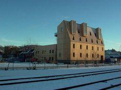 ANERKJENT: Strandveien 37 i Trondheim er bygget i ubehandlet tre og har fått mye hederlig omtale.
