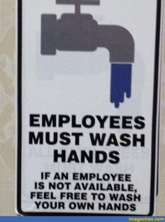 Hand washing...feel free to do your own!