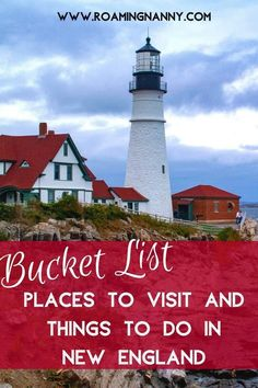 While it may be tiny trust me when I say there are plenty of bucket list places to visit and things to do in New England. Cool Places To Visit, Places To Go, Boston Travel Guide, Stuff To Do, Things To Do, Travel Usa, Travel Tips, Travel Ideas, United States Travel