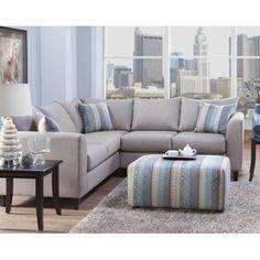 Serta Upholstery Sectional - Walmart.com