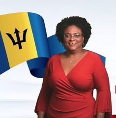 Mia Mottley -  first female Prime Minister of Barbados
