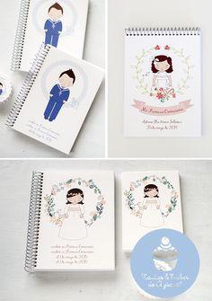 tartas y nubes de azúcar: Libretas, cuadernos y álbumes de recuerdos persona...