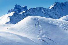 Backcountry skiing in St. Anton am Arlberg by eggerbraeu, via Flickr