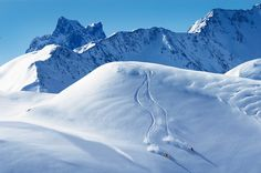 Backcountry skiing in St. Anton am Arlberg by eggerbraeu, via Flickr