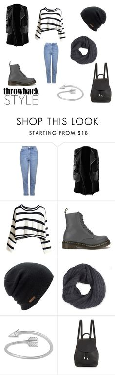 """Throwback Style: Dr. Martens"" by emma-esselmark on Polyvore featuring Topshop, Dr. Martens, Coal, Frenchi and rag & bone"