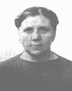 Lithuanian librarian Ona Simaite took food to Jews in the Vilna ghetto, helped hide many Jews outside the ghetto, and saved valuable Jewish literary and historical materials. Vilna, 1941.  — US Holocaust Memorial Museum
