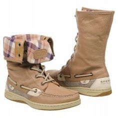 Cuffable Sperry Boots. GOD I HAVE GOT TO HAVE SOME.