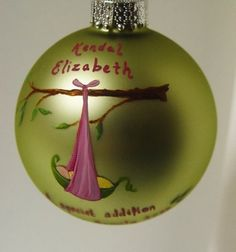 cute hand painted ornaments