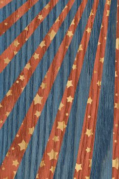 Earn your stripes (and stars) with Minwax® Express Color™ in Crimson, Indigo, and Oak. Stained Table, Minwax, Oak Table, Indigo, It Is Finished, Stripes, Stars, Wood, Blue