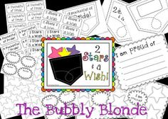 2 Stars & a Wish Freebie:  Great to use during conferences!