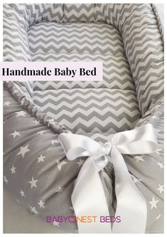 Discover thousands of images about Handmade Double sided Organic Baby Nest Bed-Gray Baby nest bed Baby nest bed Baby Crib Bedding, Grey Bedding, Baby Cribs, Baby Nest Pattern, Baby Nest Bed, Baby Sewing Projects, Sewing Ideas, Diy Bed, Diy Crib