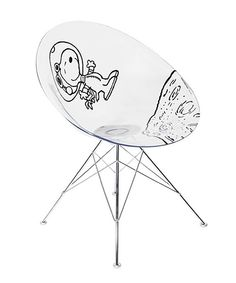 Kartell x Black Peanuts – Astronaut Snoopy Ero S  Chair by Philippe Starck