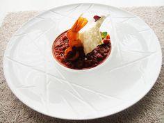 Shrimps saganaki Shrimp, Restaurant, Fresh, Dishes, Ethnic Recipes, Desserts, Food, Kitchens, Tailgate Desserts