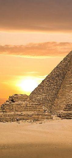 Pyramids of Giza, Egypt #travel #egypt #pyramids