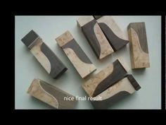 ▶ How to make knife making handle material - exceptional CUSTOM cutting - YouTube