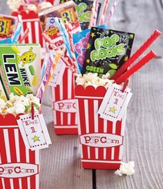 movie party favors