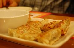 Vegetarian potstickers are a delectable way to celebrate the Chinese New Year. The filling is richly seasoned with mushrooms, scallions, ginger, and garlic. Feel free to play around with this combination, Napa cabbage and water chestnuts would