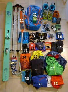 The clothing and equipment you carry for winter backcountry skiing and ski touring is always a thorny subject with a vast array of kit on offer to baffle and confuse. Olly Allen, IFMGA British Mountain Guide, shares his golden rules of packing.