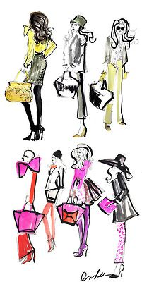 our fall 2013 collection as seen through the eyes of inslee haynes  (via kate spade fall 2013 | The Sketch Book – Inslee Haynes)
