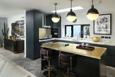 compact kitchen units bronze with antique brass accents light pendants charcoal kitchen over the glamorous side art frame gold touches of Amazing Choices of Compact Kitchen Units to Pick