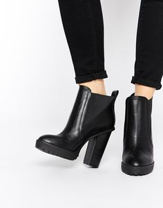 Image 1 - ASOS - EAST MEETS WEST - Bottines Chelsea pointues