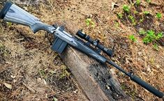 The Gunsite Scout is an excellent bugout rifle, especially when equipped with a sound suppressor. (Photo: Jim Grant)