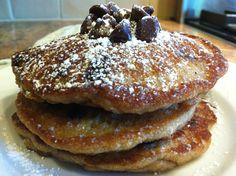 Gluten Free and Vegan Chocolate Chip Pancakes